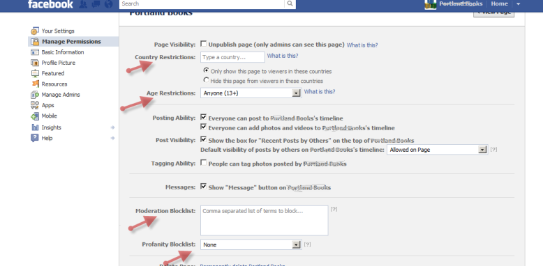 Can't See Facebook Page without Logging In – SiteSwan Support